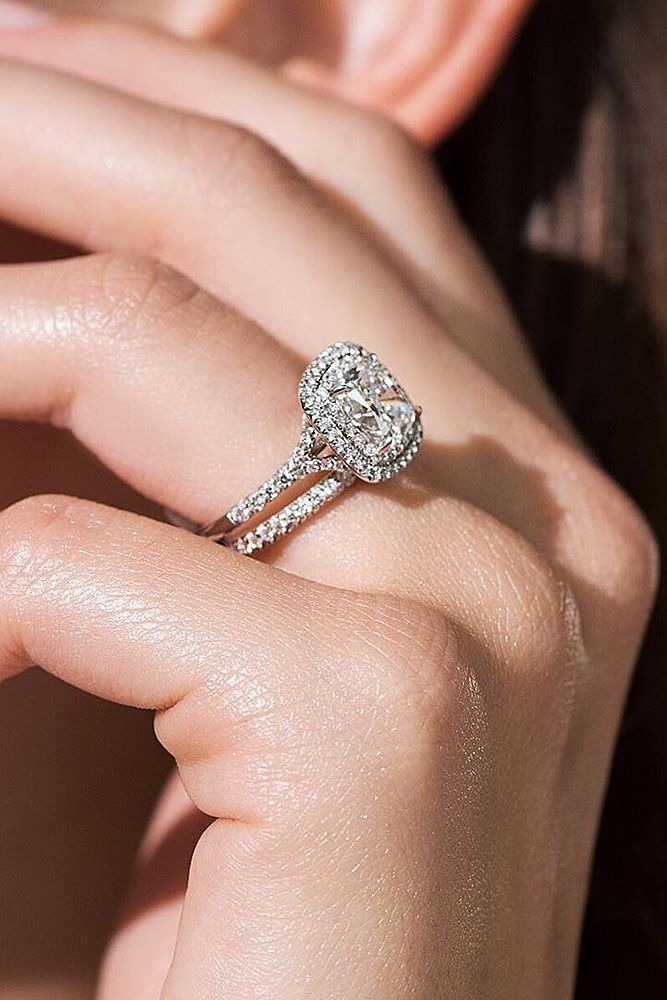 18 Tiffany Engagement Rings That Will Totally Inspire You ❤ tiffany engagement rings wedding set emerald cut ❤ More on the blog: https://ohsoperfectproposal.com/tiffany-engagement-rings/