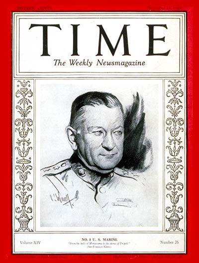 Major General Neville -- Dec. 23, 1929