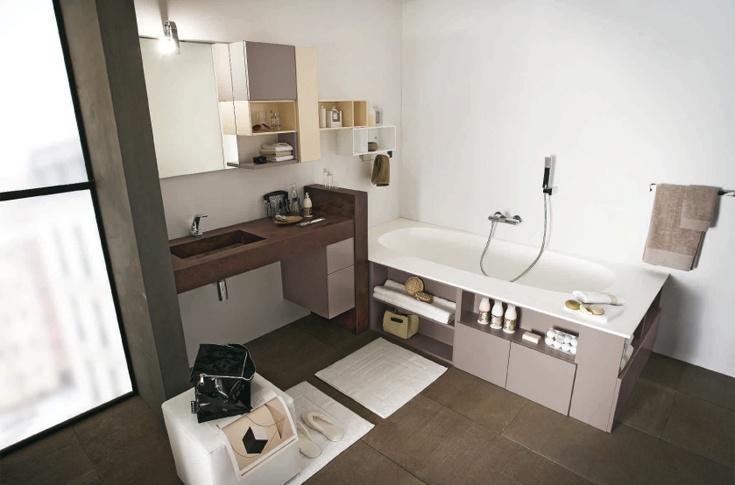 37 best Arredo Bagno images on Pinterest | Bathroom, Half bathrooms ...