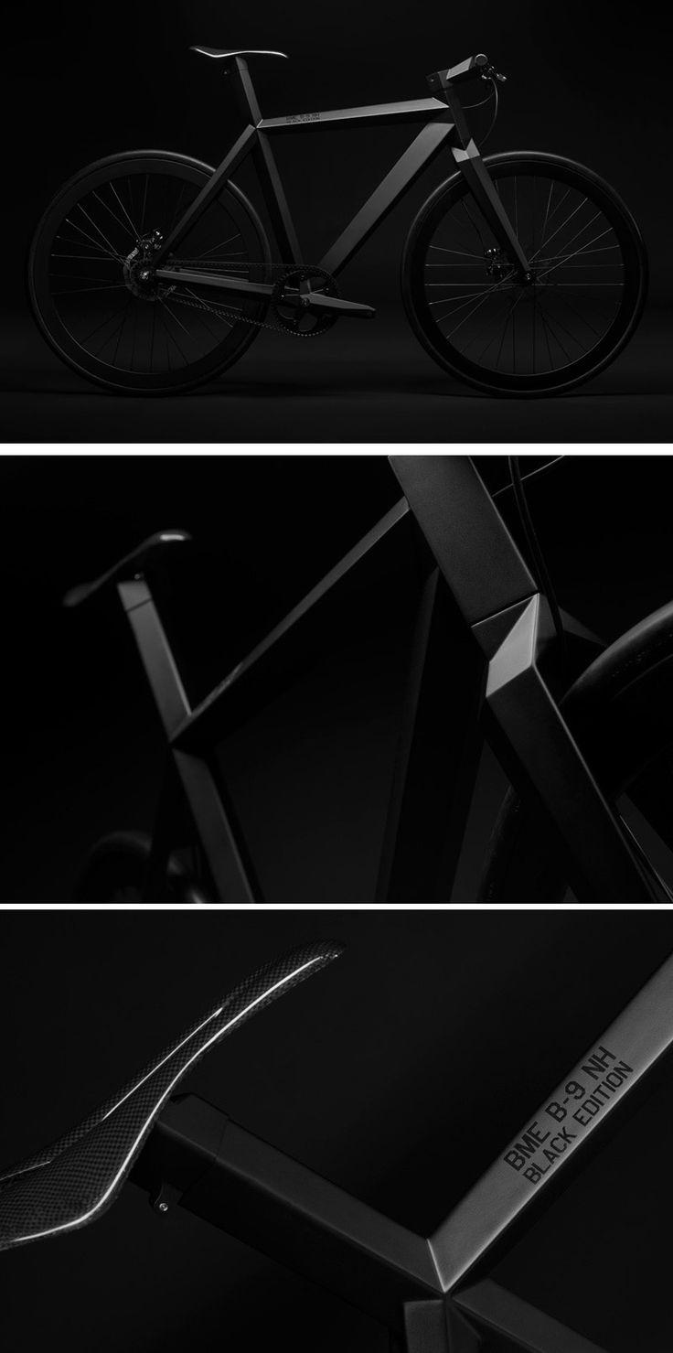 BME Design Create A Limited Edition Matte Black Stealth Bike