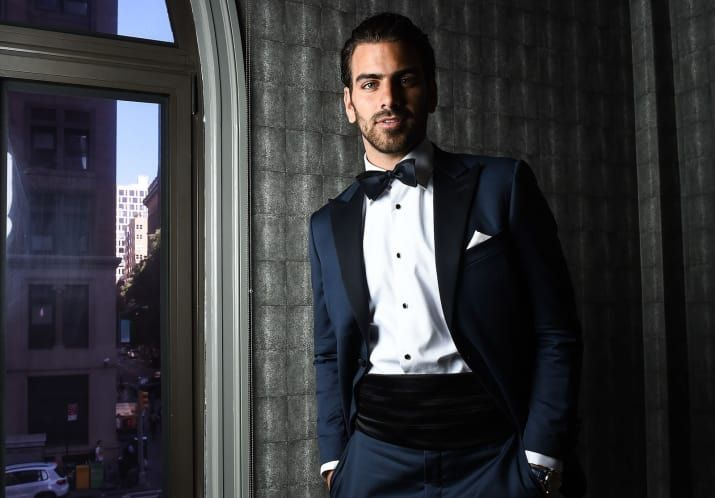 Beautiful Photos Of Nyle DiMarco, Andreja Pejic, And Karrueche Tran Getting Ready For The AmFar Gala