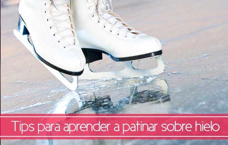 Tips para aprender a patinar sobre hielo