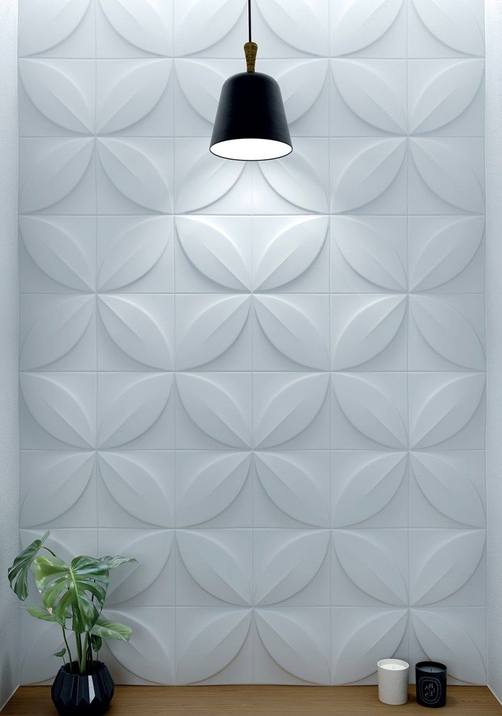 Three Dimensional Wall Design Refined Living With Style And Taste