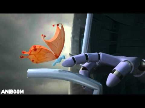 The Robot and the Butterfly - A Surprising Aniboom Animation by Orit Mendelson