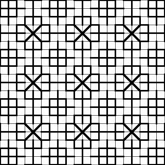 """""""Fill-in Pattern for Blackwork Embroidery"""" / from website Fill Patterns for Blackwork Embroidery."""