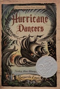 2012 Author Honor  Hurricane Dancers: The First Caribbean Pirate Shipwreck by Margarita Engle, published by Henry Holt and Company, LLC.    Engle's beautifully written poetic narrative cuts to the heart of an untold story in Latin American history and describes the enslavement of the native peoples of the Caribbean by the Spanish along with the mixing of Spanish and native blood that now forms the vast majority of Latin America.