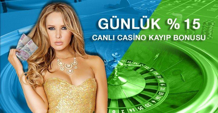 Canlı Casino Oyunlarında Kayıp Bonusu Alabileceğinizi Biliyor muydunuz?