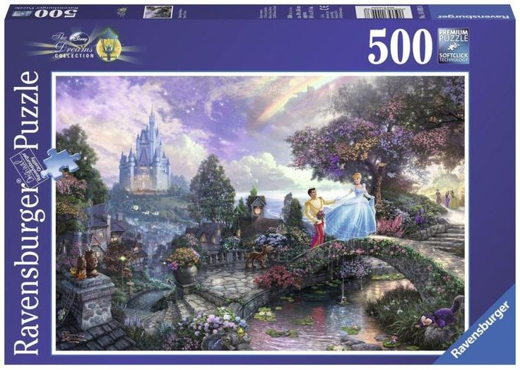 Vásárlás: Ravensburger Thomas Kinkade: Hamupipőke 500 db-os (14493) Puzzle árak összehasonlítása, Thomas Kinkade Hamupipőke 500 db os 14493 boltok