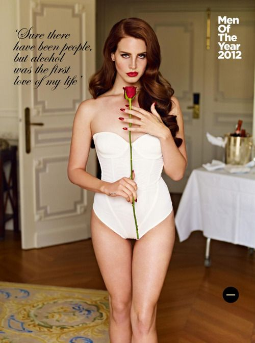 Lana Del Rey. GQ October 2012. Photograph by Mariano Vivanco.