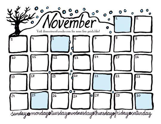 Best Calendar Images On   Calendar Free Printable