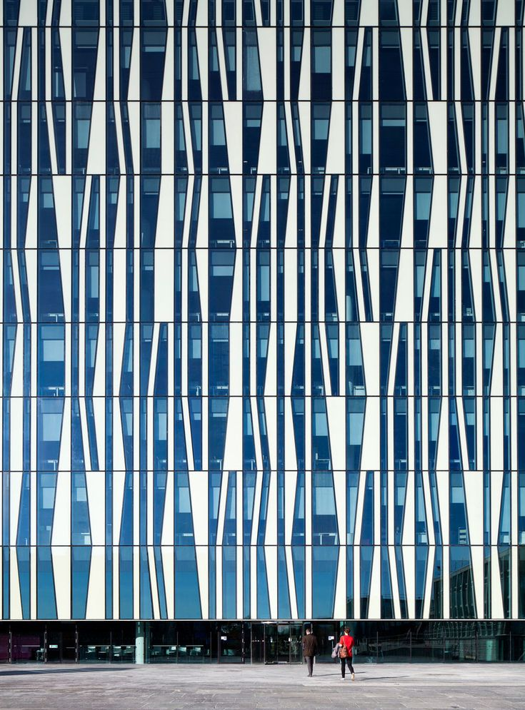 Bibliothek der University of Aberdeen – Sir Duncan Rice Library, UK -