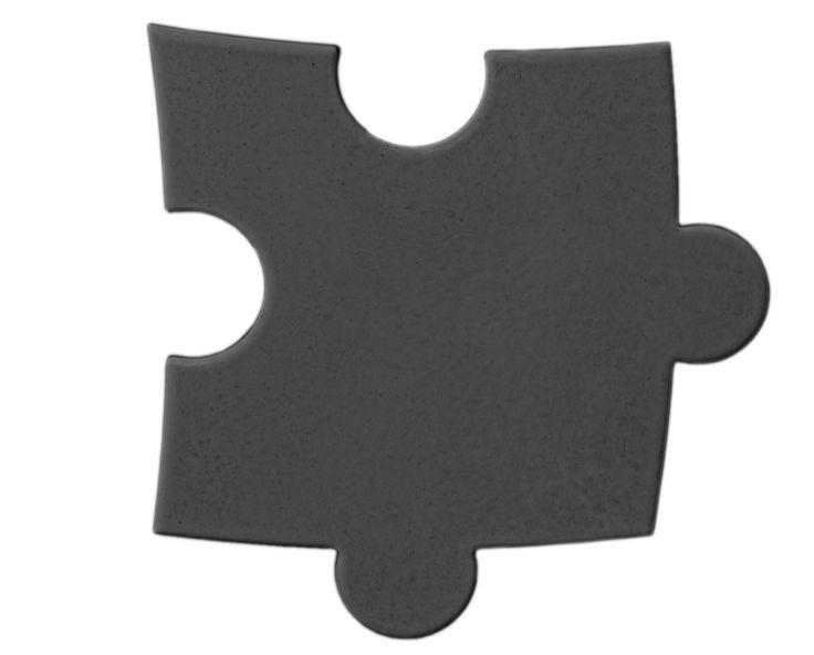 Płytka 3D Puzzle - Antracytowa - zdjęcie od Bettoni - Beton Architektoniczny - Gabinet - Bettoni - Beton Architektoniczny