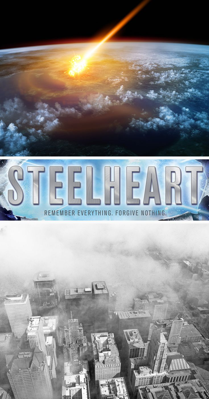 Brandon Sanderson's Steelheart is the perfect book for teen boys who like comics and superheros. See why this first book in The Reckoners series is getting so much attention.   http://www.penguinrandomhouse.com/books/225009/steelheart-by-brandon-sanderson/9780385743570/?utm_source=Pinterest&utm_medium=1.3p