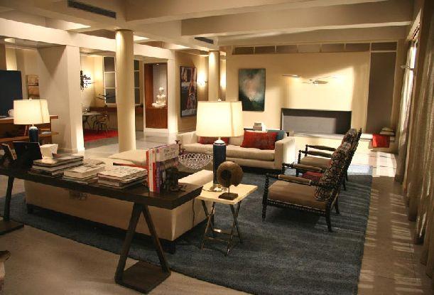 woodsen-penthouse-gossip-girl living room decorating ideas