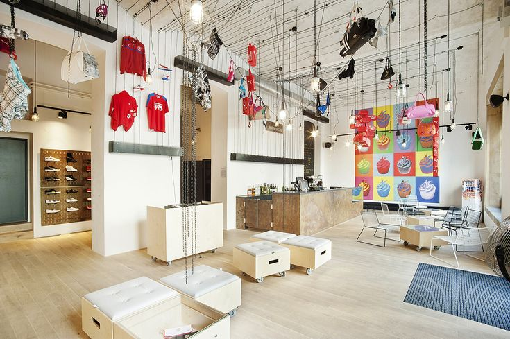 Puma social store Prague by edit! architects