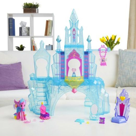 Features a variety of play areas of the castle playset. My Little Pony Explore Castle Features Playset features 2 staircases, a baby swing and 2 closets that have spinning shelves. Light-up castle reflects cutie marks when heart-shaped button is pressed. | eBay!