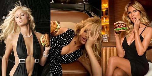 7 Selebriti Seksi Tampil Vulgar di Iklan Burger | Berita Terbaru 2013
