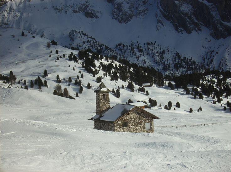 Chiesetta all'Alpe Seceda Val Gardena
