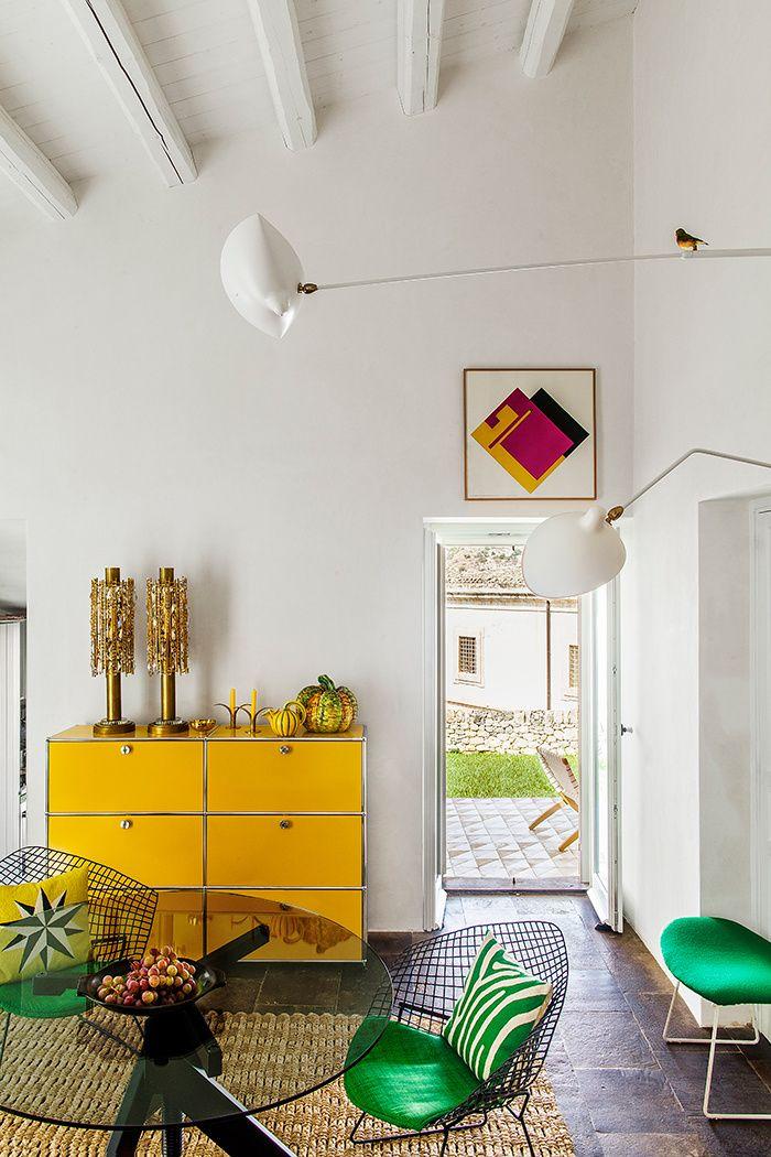 C'est dans un village baroque en Sicile que l'architecte Laurent Buttazzoni a installé sa maison de vacances © Matthieu Salvaing