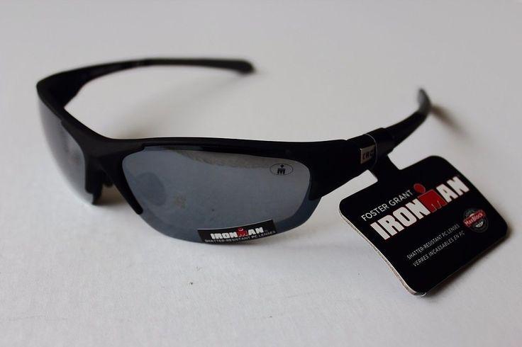 Foster Grant Ironman Sunglasses Shatter-Resistant PC Lenses