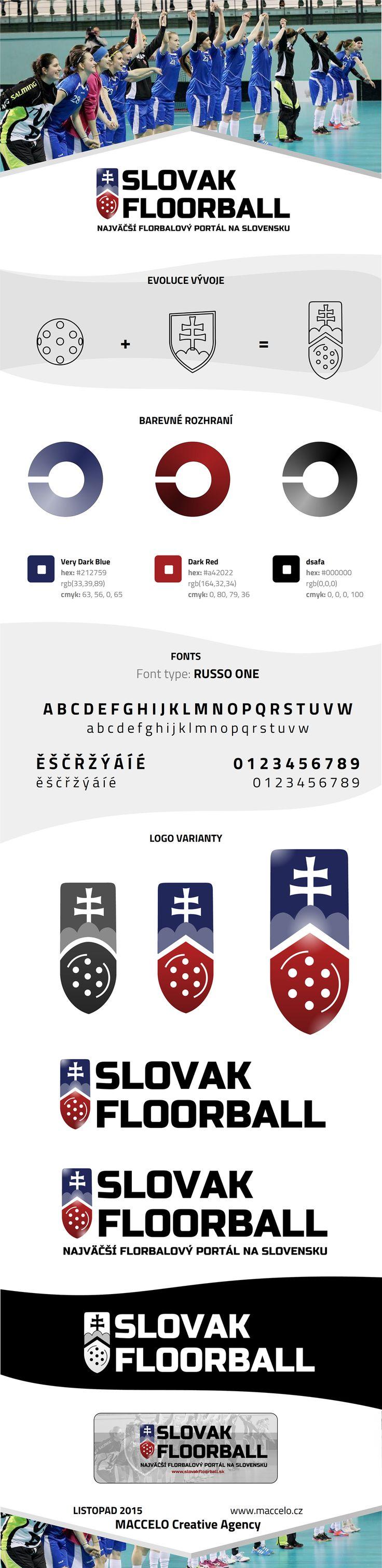 Brand of Slovak Floorball on Behance