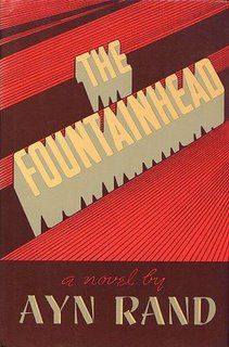 The Fountainhead: a 1943 novel by Ayn Rand. A love story. A young architect chooses to struggle against the establishment in artistic obscurity rather than compromise his personal vision.