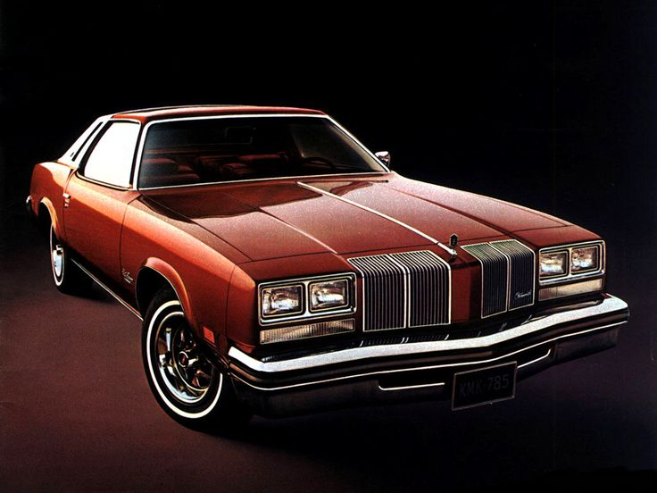 '76 Olds Cutlass Supreme: great front grill