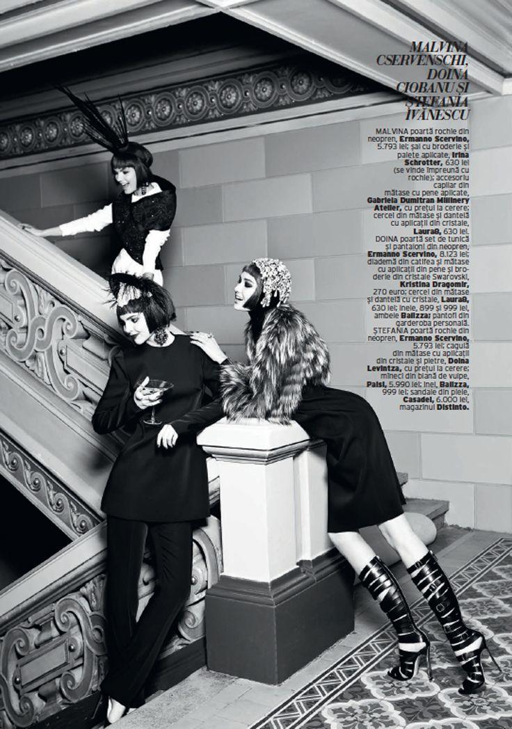 The Modern Duchess : Elle Romania December 2013