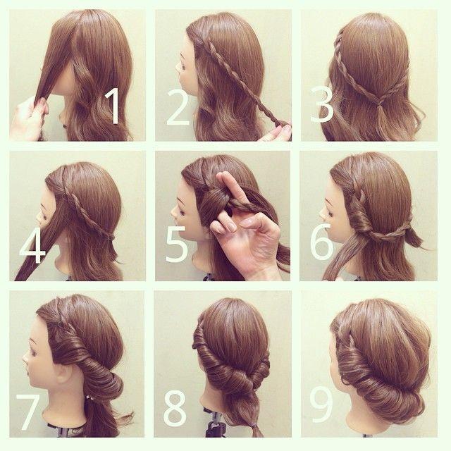 不器用さんでも出来る♡カリスマ美容師ひかるさんに学ぶ簡単ヘアアレンジ10選*にて紹介している画像