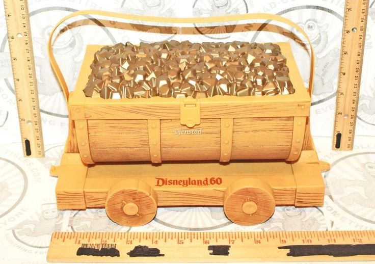 DISNEY 60TH CELEB BIG THUNDER GOLD MINE TRAIN CAR POPCORN BUCKET DISNEYLAND 2015 | Collectibles, Disneyana, Contemporary (1968-Now) | eBay!