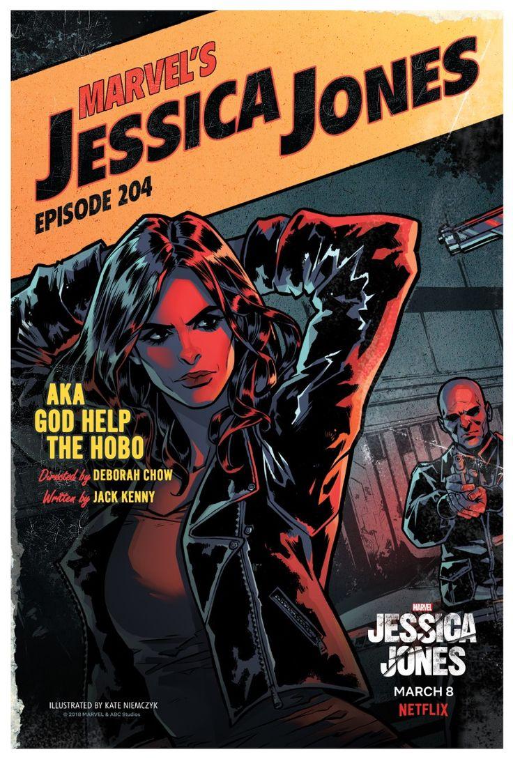 Netflix Releases 13 Episode Posters For JESSICA JONES Season Two  http://www.themoviewaffler.com/2018/03/netflix-releases-13-episode-posters-for.html  #Marvel #Netflix #JessicaJones