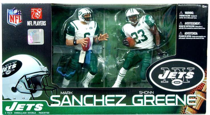 Mcfarlane NFL Figure 2-Pack Mark Sanchez/Shonn Greene New York Jets