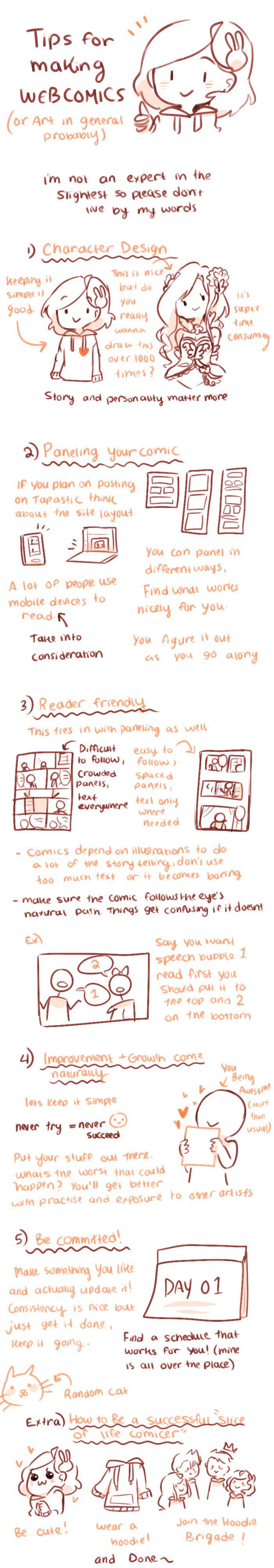 Anti-Social Media :: Extra: Tips that may be helpful | Tapastic Comics - image 1