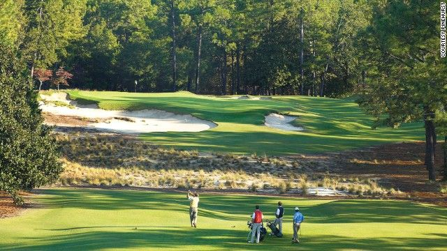 The Pinehurst Resort has eight courses, four designed by Donald Ross, including the legendary No. 2 course, which has hosted one Ryder Cup, ...