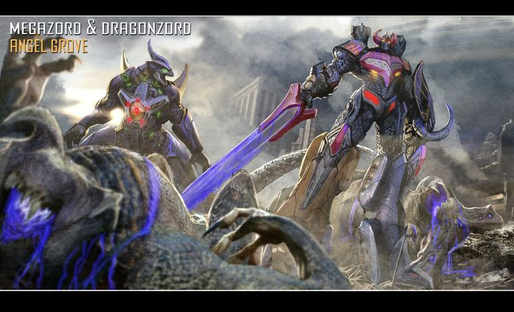 MMPR Movie Zords Concepts #∆∆shani