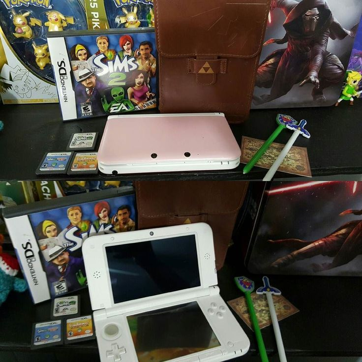 On instagram by meezy64 #retrogaming #microhobbit (o) http://ift.tt/1RFaIaU sale. $130 shipped obo.  Pink 3ds XL with charger and stylus. LoZ case/pouch with two stylus and map cloth thing. 3 Sims games included as well. . . . .  #nintendo #nintendopower #nintendolife #igers #igesnintendo #nintendo64 #n64 #pokemon #zelda #retro  #retrocollective #nes #snes #gamecube #wii #wiiu #lol #love #hashtag  #retrocollectiveus #videogames #link #supermario #worldofnintendo #3ds #tloz #thelegendofzelda