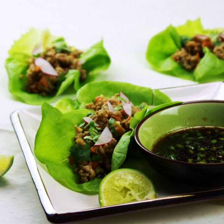 Menu Musings of a Modern American Mom: Vietnamese-Style Lettuce Cups