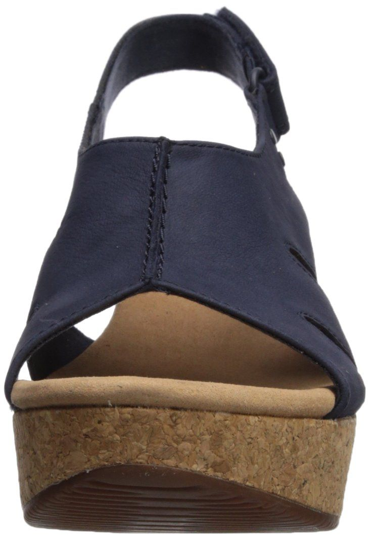 6cf94e2427bc CLARKS Womens Annadel Bari Platform Navy Nubuck 5.5 Medium US    Click on  the image for additional details. (This is an affiliate link and I receive a  ...