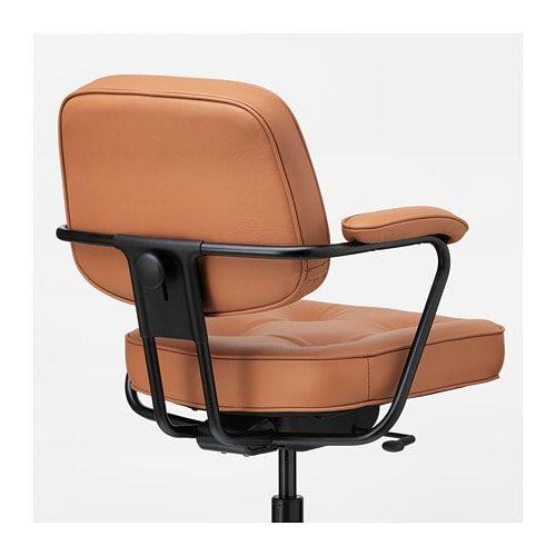 Alefjall Chaise De Bureau Grann Beige Chaise Bureau Brun Dore Ikea Family