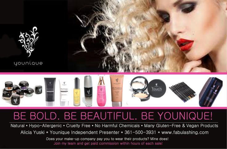 Check out all of younique's amazing products! https://www.facebook.com/alicia.english.39 www.fabulashing.com