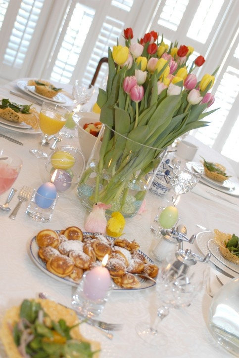 A Traditional Easter Brunch Menu