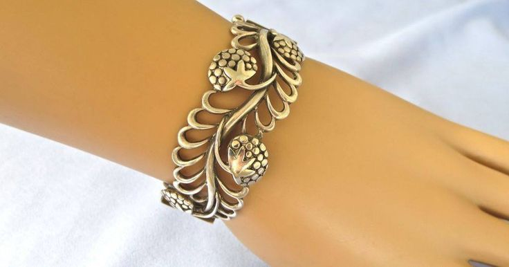 Just Andersen sterling silver bracelet #571