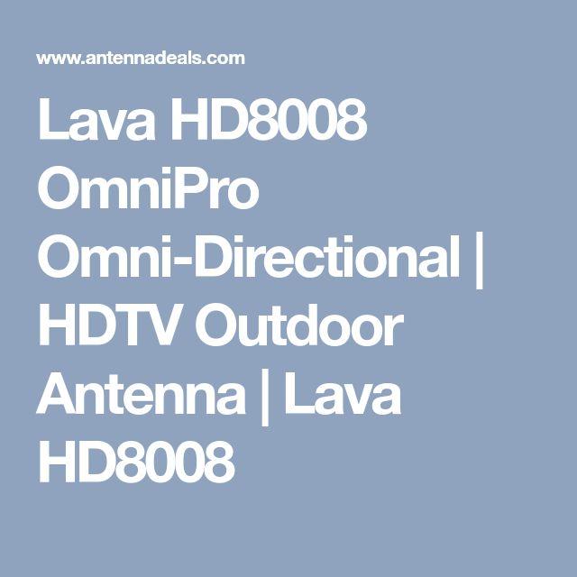 Lava HD8008 OmniPro Omni-Directional | HDTV Outdoor Antenna | Lava HD8008