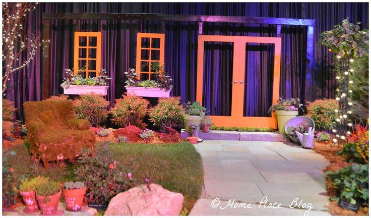"""Creative Contour 2014 Flower Show Landscape Design (""""Backyard Paradise"""")"""