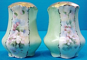 Green Philip Rosenthal and Co Salt & Pepper Shakers