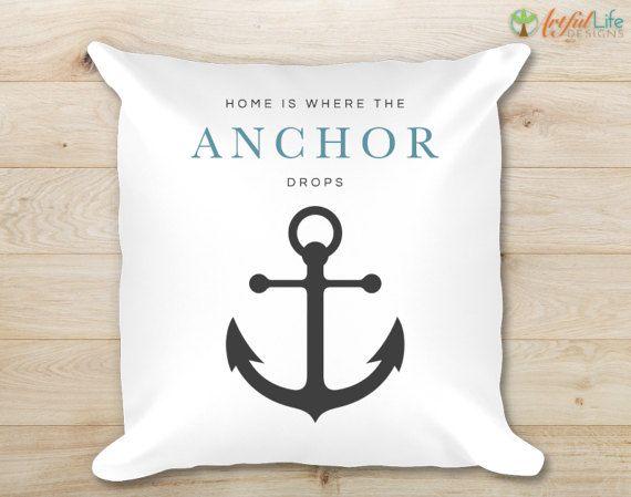 Nautical Throw Pillow Decorative Pillow Accent Pillow