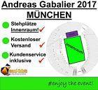 #Ticket  ANDREAS GABALIER 2017 STEHPLÄTZE INENNRAUM TICKETS OLYMPIASTADION MÜNCHEN 2.0 #chf