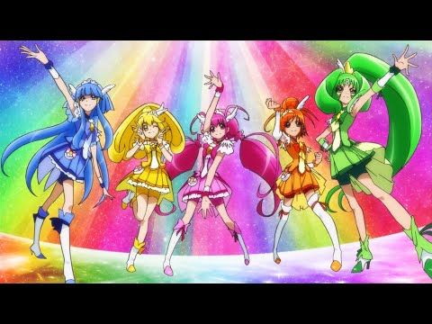 Glitter Force (Smile Pretty Cure!) Japanese Opening Theme - YouTube