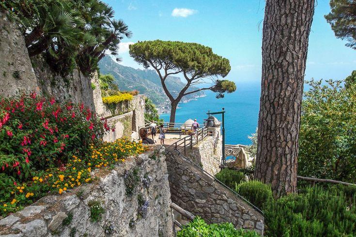 Ravello Villa Rufolo - Living Amalfi