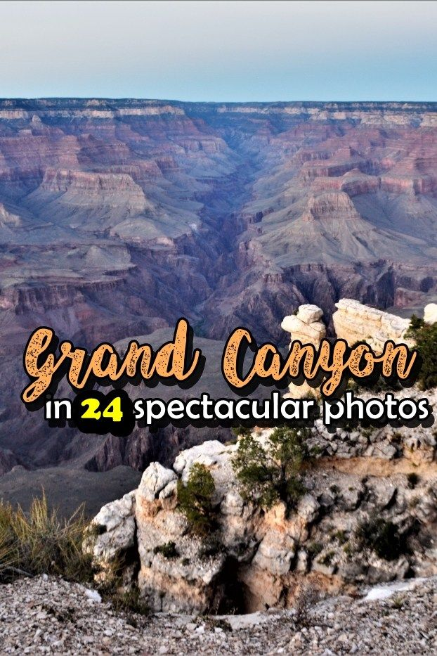 The Grand Canyon is 446 km in length, a maximum width of 29 km, its deepest section reaching 1.8 km. It is made up of North Rim and South Rim, the first one being taller with about 300. More specifically, the North Rim reaches up to 2400 meters, while the southern one 2100. Due to the more severe weather conditions in the cold season, the northern part of the National Park is only open from 15 May to 15 October, while the southern part is open all year long for visitors eager to explore.